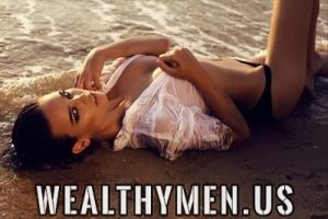 Wealthy man beautiful woman