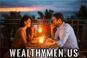 classy woman rich man